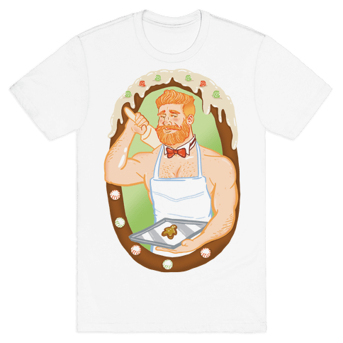 The Ginger Bread Man Mens T-Shirt