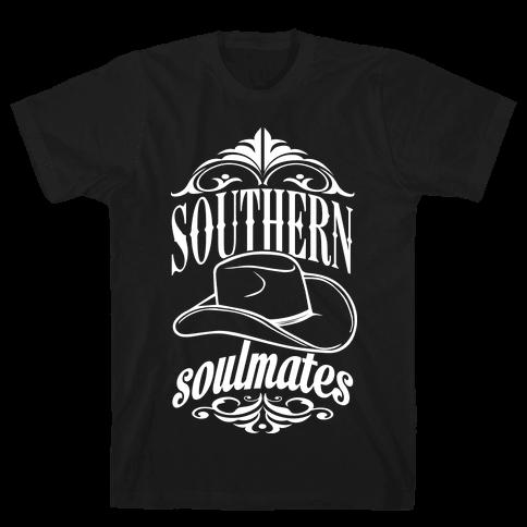 Southern Soulmates Mens T-Shirt