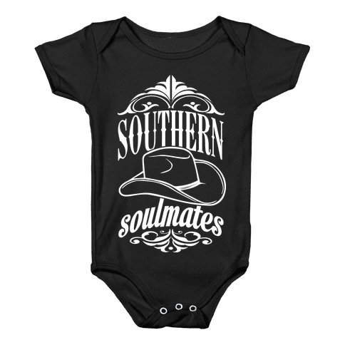 Southern Soulmates Baby Onesy