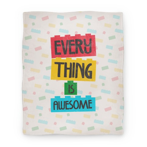 Everything is Awesome Blanket