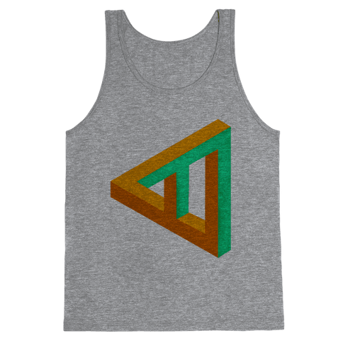 Triangle Optical Illusion Tank Top