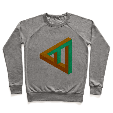 Triangle Optical Illusion Pullover
