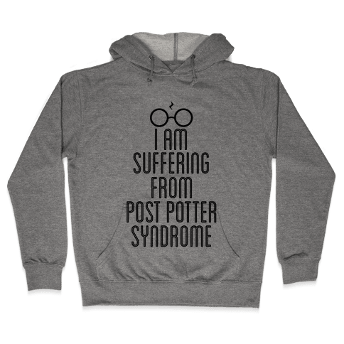 Post Potter Syndrome Hooded Sweatshirt
