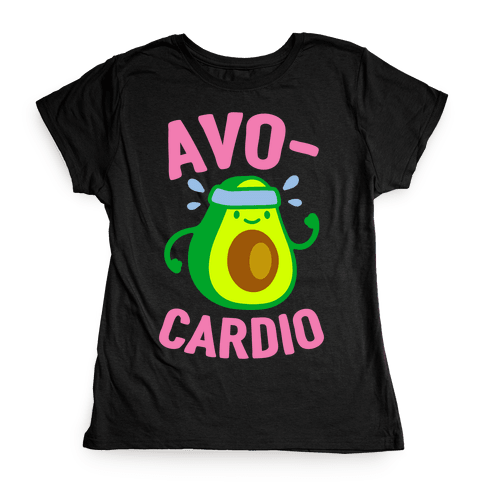 Avocardio Avocado Womens T-Shirt
