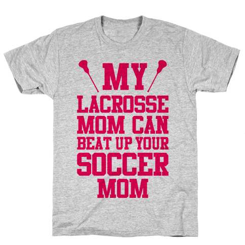 Lacrosse Mom Mens T-Shirt