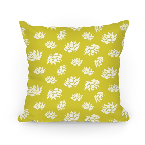 Yellow Lotus Flower Pattern