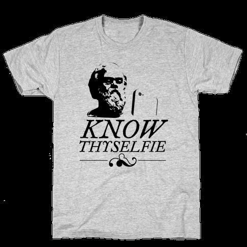 Know Thyselfie Mens T-Shirt