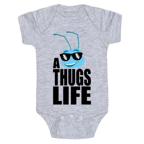 A Thugs Life Baby Onesy