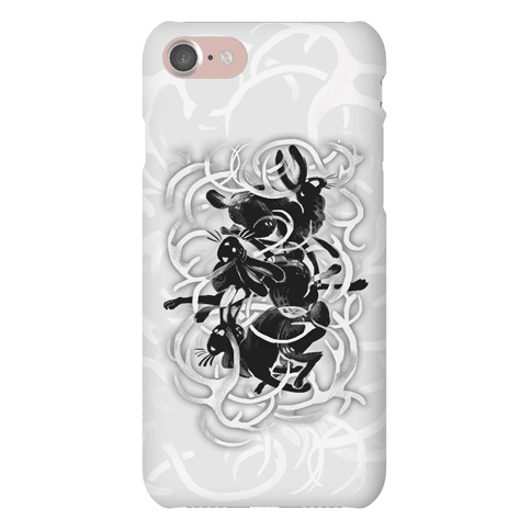 Jackalope In The Woods Phone Case