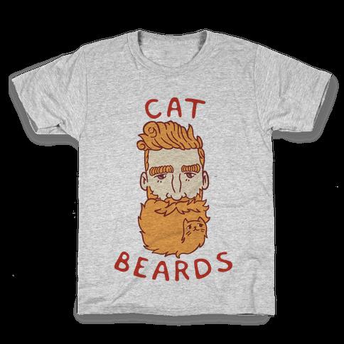 Ginger Cat Beards Kids T-Shirt
