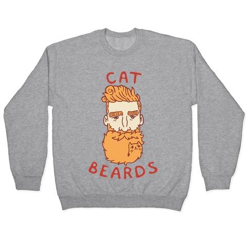 Ginger Cat Beards Pullover