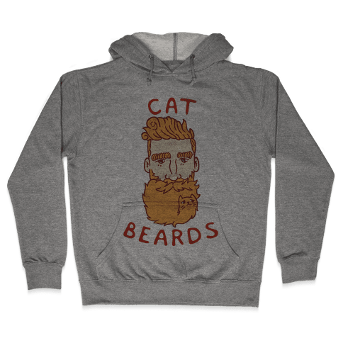Ginger Cat Beards Hooded Sweatshirt