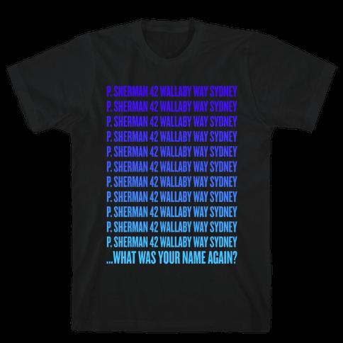 P. Sherman 42 Wallaby Way Sydney Mens T-Shirt