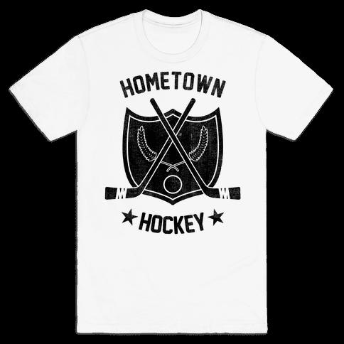 Home Town Hockey Mens T-Shirt