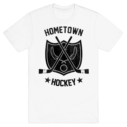 Home Town Hockey Mens T-Shirt