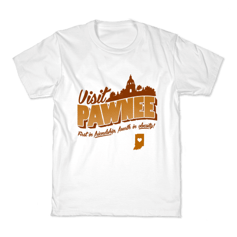 Visit Pawnee Kids T-Shirt