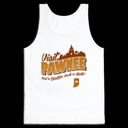 Visit Pawnee Tank Top
