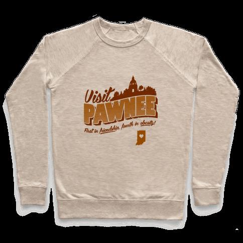 Visit Pawnee Pullover
