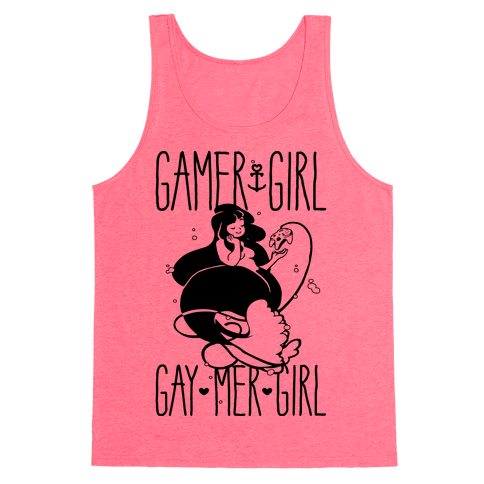 Gamer Girl Gay Mer Girl Tank Top