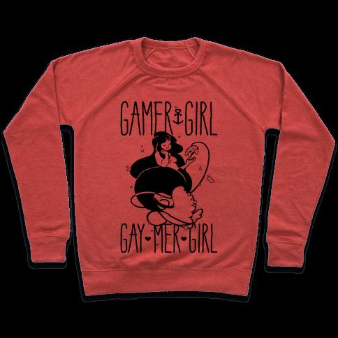 Gamer Girl Gay Mer Girl Pullover