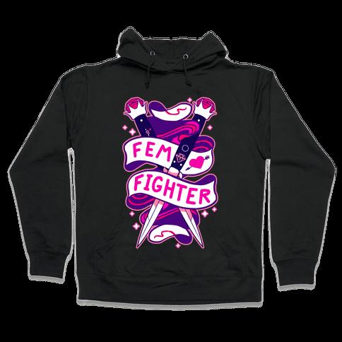 Fem Fighter Hooded Sweatshirt