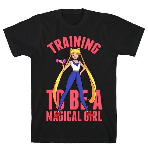 Training To Be A Magical Girl Mens/Unisex T-Shirt