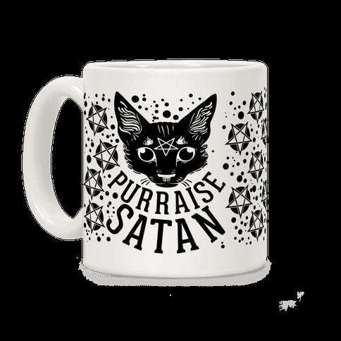 Purraise Satan Coffee Mug