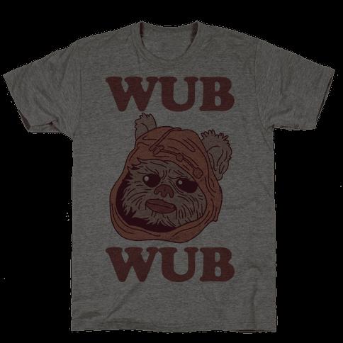 Wub Wub (Ewok) Mens T-Shirt