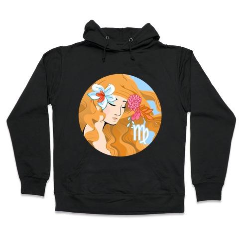 Zodiac Virgo Hooded Sweatshirt