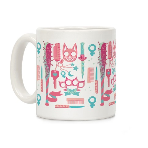 Feminist Fighter Arsenal Coffee Mug