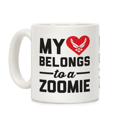 My Heart Belongs To A Zoomie Coffee Mug