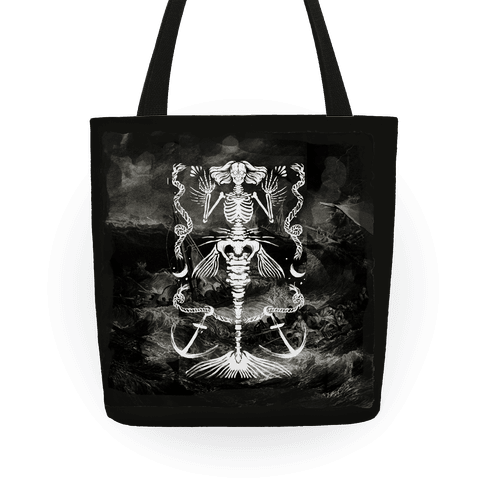 Dead Mermaid Tote Tote