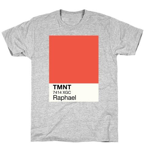 Raphael Color Swatch Parody T-Shirt