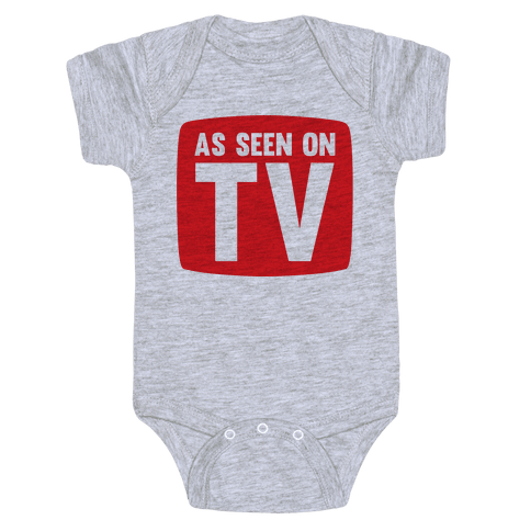 As Seen On TV Baby Onesy