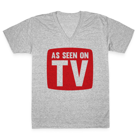As Seen On TV V-Neck Tee Shirt