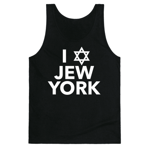 I Love Jew York Tank Top