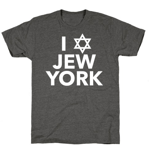 I Love Jew York T-Shirt