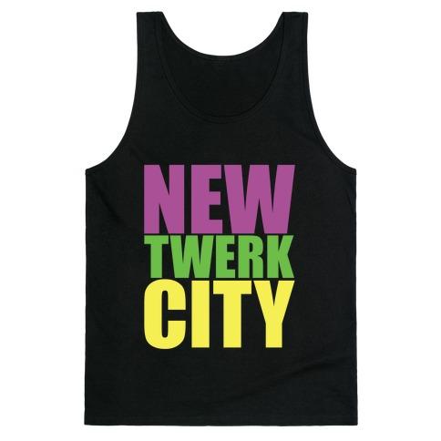 New Twerk City Tank Top