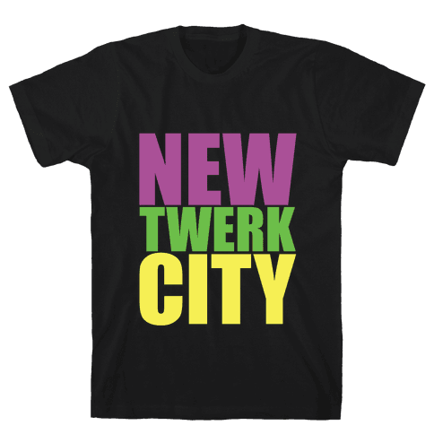New Twerk City Mens T-Shirt
