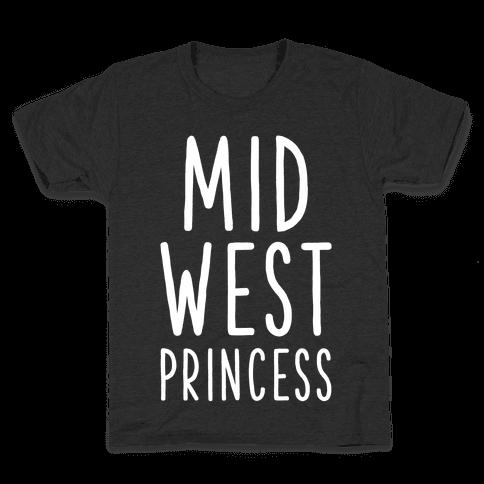 Midwest Princess Kids T-Shirt
