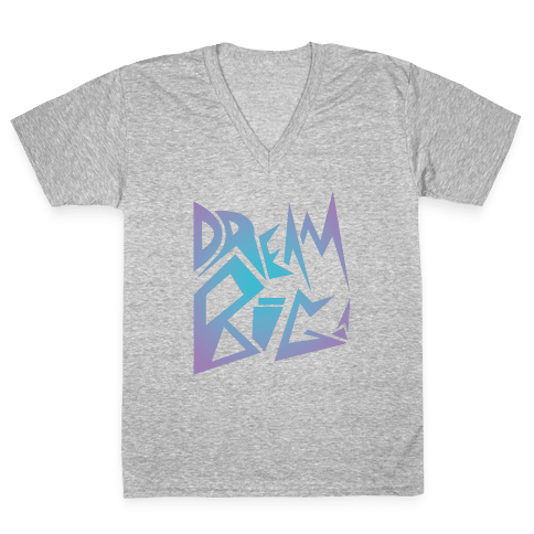 Dream Big V-Neck Tee Shirt