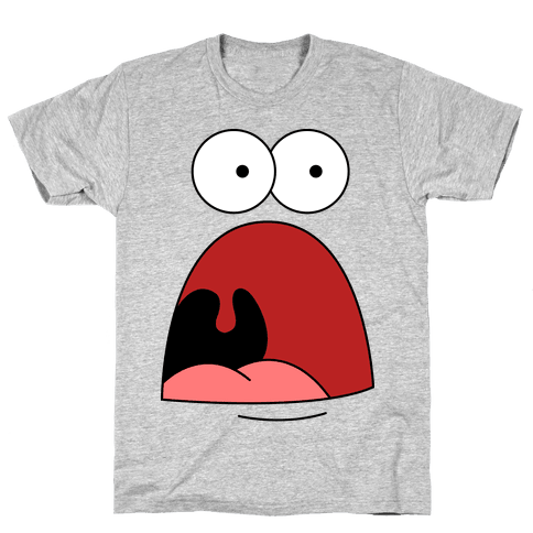 Patrick is Shocked Mens T-Shirt