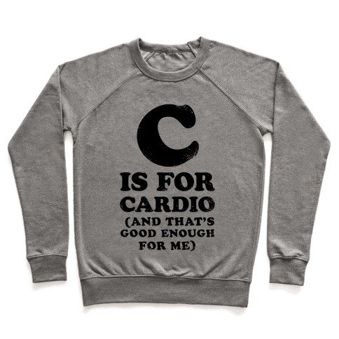 C is for Cardio Pullover