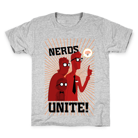 Nerds Unite Kids T-Shirt