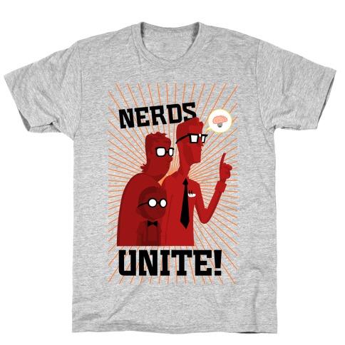 Nerds Unite T-Shirt