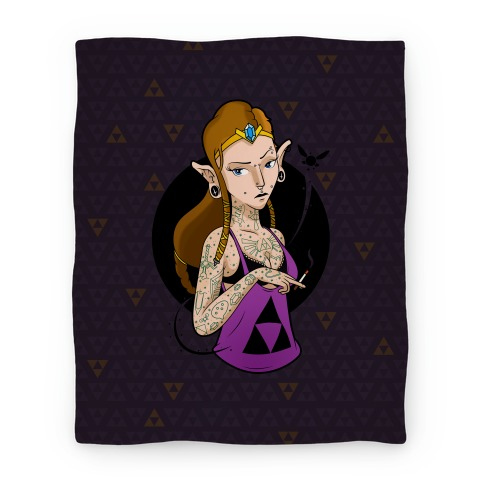 Punk Zelda Parody Blanket
