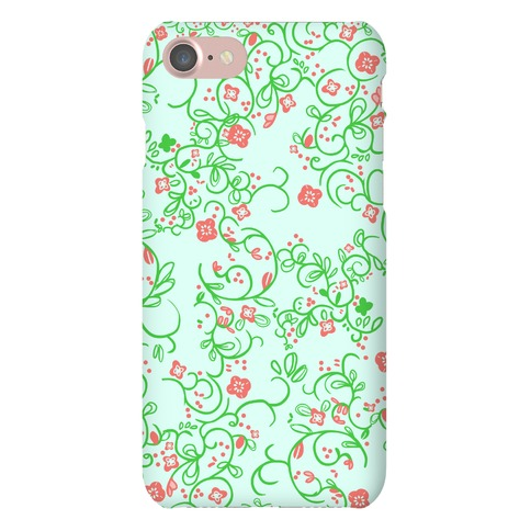 Spring Flora Pattern Phone Case