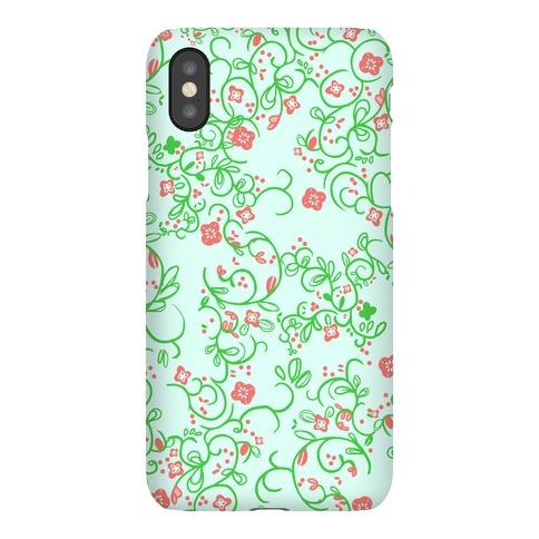 Spring Flora Pattern Phone Case