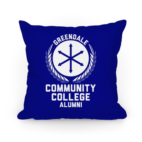 Greendale Community College Alumni Pillow