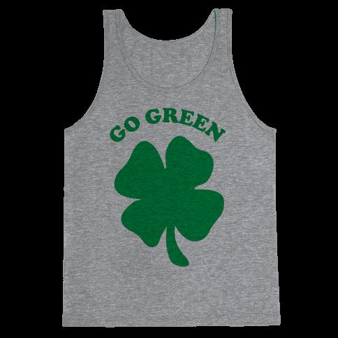 Go Green Tank Top